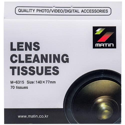 دستمال تمیز کننده لنز دوربین متین مدل M-6315 - بسته 70 عددی