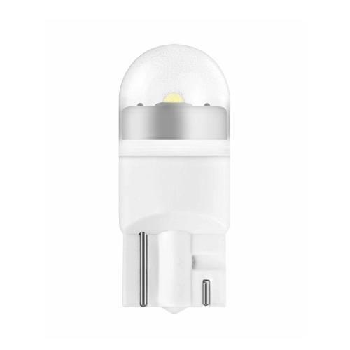 لامپ خودرو ال ای دی اسرام مدل W5W 12V 1 W LEDriving 2850CW بسته 2 عددی